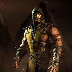 Scorpion. Mortal kombat X