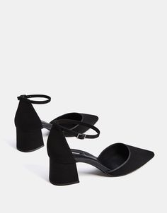 Mid-heel shoes with ankle straps - SHOES - Bershka Romania