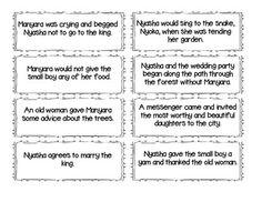 Mufaro's Beautiful Daughter's Lesson Plan Determining Theme