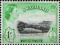 Swaziland 1961 Highveld View Fine Mint SG 79 Scott 43 Other Swaziland and British Commonwealth Stamps HERE!
