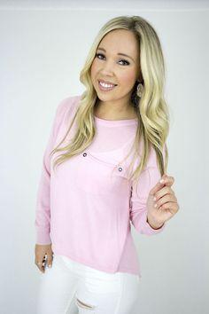 Joelle Top - Light Pink