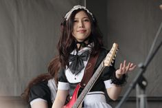BAND-MAID answered the call of London as they made their European debut at MCM London Comic Con on M...
