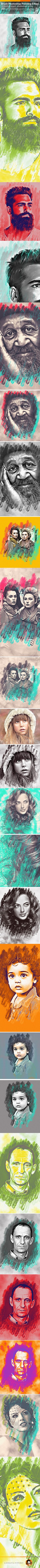 Oil Painting Photoshop Effect. Download here: https://graphicriver.net/item/oil-painting-photoshop-effect/17108342?ref=ksioks