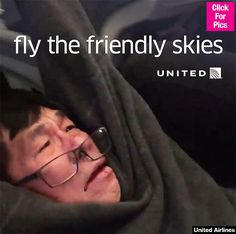 United Airlines how dare you.