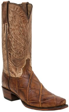 Decorative stitching along upper shaft. Leather lining. Best Cowboy Boots, Cute Cowgirl Boots, Custom Cowboy Boots, Men's Boots, Cool Boots, Mens Boots Fashion, Men's Fashion, Country Life, Country Style