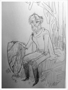 Kate Beaton draws Beric Dondarrion