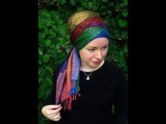 Zig-zag wrap – with ONE scarf! – The Wrapunzel Blog