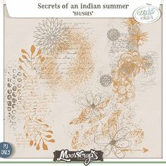 Secrets of an indian summer - brushes