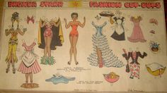 "Brenda Starr Newspaper Paper Doll by Dale Messick  1942 ""Siberia, Daphne's New…"