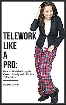 "It is a must read for every Teleworker or NOT. My book named ""Telework Like a Pro: How to Find the Happy in Career, Family and Life As a Teleworker"" is about telecommuting and how to become better at it.  However, If you think this book is not for you since it is for people who are teleworkers/telecommuters I want you to read it anyways! It is motivational; thought provoking and challenges the idea, possibilities, and opportunities when it comes to teleworking."