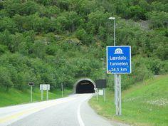 Longest road tunnels : Lærdal - km (Norway) Yamate - km (Japan) Zhongnanshan - km (China) Jinpingshan - km (China) St. Gotthard - km (Switzerland) Visit Norway, Beautiful Places, Scenery, Japan, Nature, Roads, Switzerland, China, Top