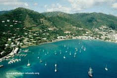 road town tortola | of Road Town and Road Bay, Tortola, British Virgin islands. The town ...