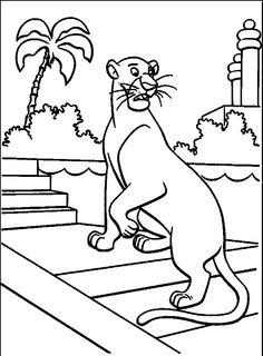 Jungle Book Bagheera Afraid