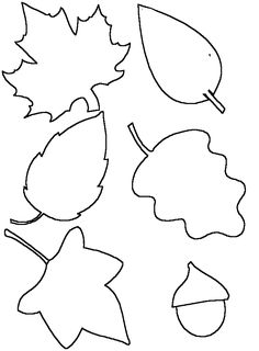 template Halloween Activities For Kids, Fall Crafts For Kids, Diy And Crafts, Art For Kids, Paper Crafts, Fall Leaf Template, Fall Garland, Fall Preschool, Crafts For Seniors