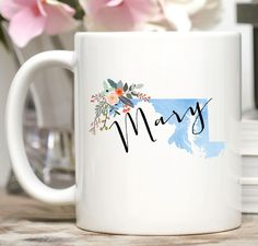 Personalized Maryland Mug
