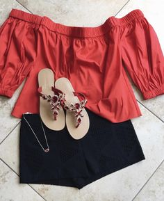 Red Sandals, Leather Sandals, Mystique Sandals, Types Of Women, Casual Shorts, Pairs, Handmade, Shopping, Collection