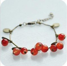 Find More Charm Bracelets Information about B057Wholesale,Vintage Red Glass Cherry Alloy Leaf Hand Chain Bracelet ,Fashion Jewelry,High Quality jewelry powder,China jewelry stall Suppliers, Cheap jewelry boy from SunnyWay Jewelry on Aliexpress.com