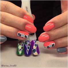 @pelikh_Котики в дизайне ногтей вкусные конфетки! #nanoprofessional #nanlac #gelpolish