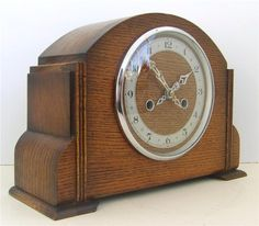 vintage mantel clocks