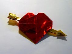 Origami Valentine by Robert J. Lang (Part 2 of 4) (+playlist)