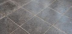 Clean colored grout with baking soda and vinegar.