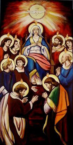 Pentecost (Version I) by Sheila Diemert