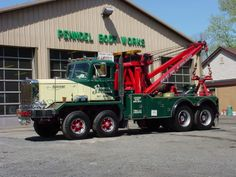 1964 Autocar Special Order Wrecker  - Towing  Recovery Insurance www.travisbarlow.com