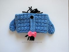 Ravelry: Eeyore Coffee Cup Cozy pattern by The Enchanted Ladybug