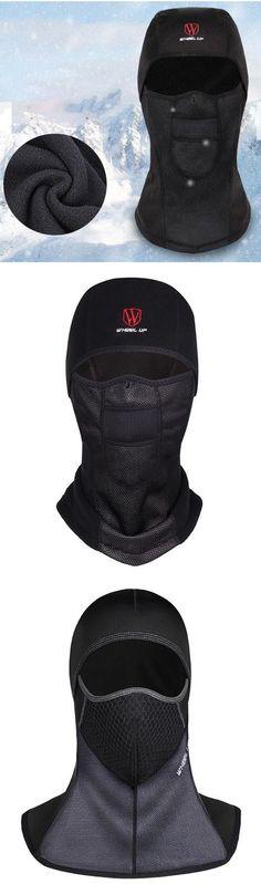 1981dee2b9e Winter Outfit  Warm Fleece Full Hood Windproof Hat  Dustproof Waterproof   men