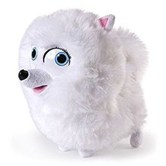 The Secret Life of Pets Deluxe Talking Soft Toy - Gidget: Amazon.co.uk: Toys & Games