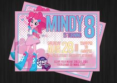 My Little Pony Equestrian Girls Pinkie Pie by CreateYouDesigns, $7.99