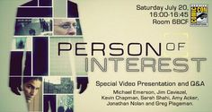 The WB Releases Person Of Interest Video At Comic-Con
