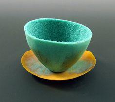 Dimi Tea pate de verre glass 1 by Jaye Houle