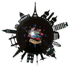 Ceasuri disc vinil - AROUND THE WORLD