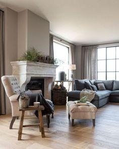 Interieurprojecten - Frieda Dorresteijn - Lilly is Love Interior Design, House Interior, Living Room Decor, Bohemian Living Room Decor, Home, Living Furniture, Farm House Living Room, Living Room Grey, Living Room Designs