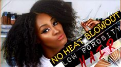 NO HEAT BLOW OUT ON LOW POROSITY/FINE NATURAL HAIR | Red Pro 3200 Turbo ...