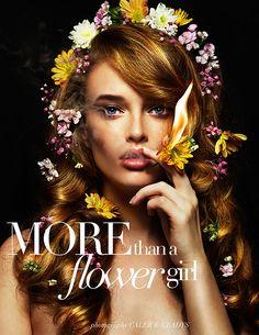 More than a Flower Girl on Behance