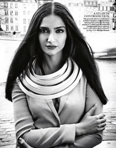Sonam Kapoor covers Vogue's April issue 2015. More pic
