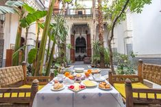 Riad à Fès au Maroc