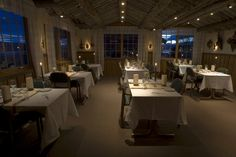 The hotel has a beautiful view of the Alta Fjord. The hotel's restaurant serves an à la carte menu, focusing on local food traditions. Hotel S, Conference Room, Menu, Restaurant, Traditional, Table, Furniture, Beautiful, Home Decor