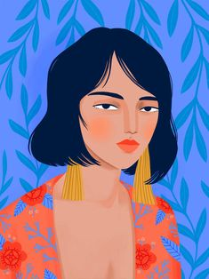 Kimono Girl Art Print by Petra Braun Illustration - X-Small Art Inspo, Kunst Inspo, Inspiration Art, Art And Illustration, Portrait Illustration, Character Illustration, Illustration Fashion, Fashion Illustrations, Illustrations Posters