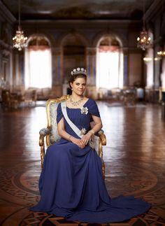 H.K.H. Kronprinsessan Victoria av Sverige (1980 - ).