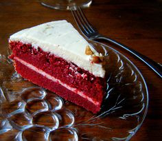 Southern Red Velvet Cake that's sugar-free and gluten-free!