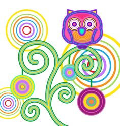 Day owl by sh-rainbowland.deviantart.com on @DeviantArt