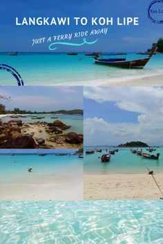 Ferry service from Langkawi, Malaysia to Koh Lipe, Thailand is available from June to October. Travel between the two islands is quick and convenient. Thailand Travel Guide, Malaysia Travel, Malaysia Trip, China Travel, Travel Usa, Pulau Tioman, Sri Lanka, Ko Lipe, Bali