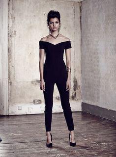 Bengaline Bardot Jumpsuit - Miss Selfridge // need this