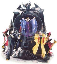 Disney Villans Snowglobe 1998-2002