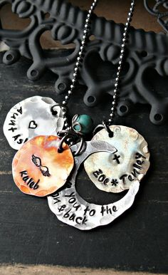 I want this sooo bad!! I love you to the moon and back Hand Stamped by yourcharmedlife, $60.00
