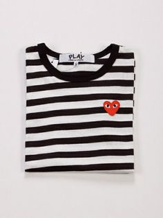 Strips and Heart, I say yes! Play by Comme des Garcons