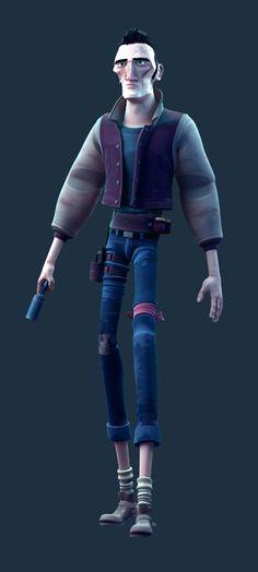 Walter - Short: 3D character